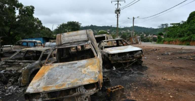 Bongouanou was one town hit by intercommunal violence in the build up to Saturday's election.  By Issouf SANOGO (AFP)