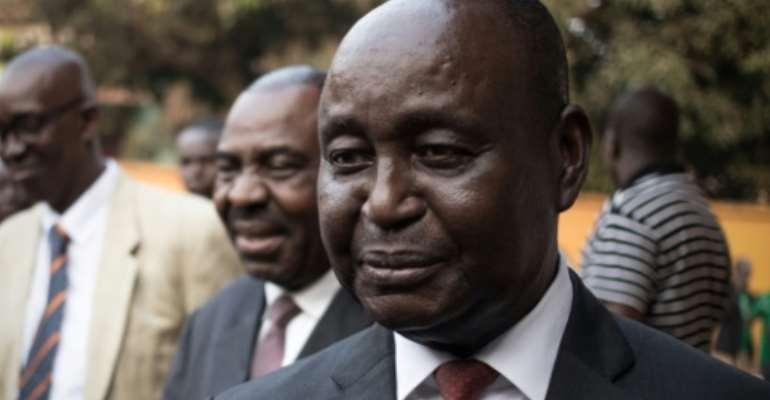 Bozize is still under UN sanctions.  By FLORENT VERGNES (AFP/File)