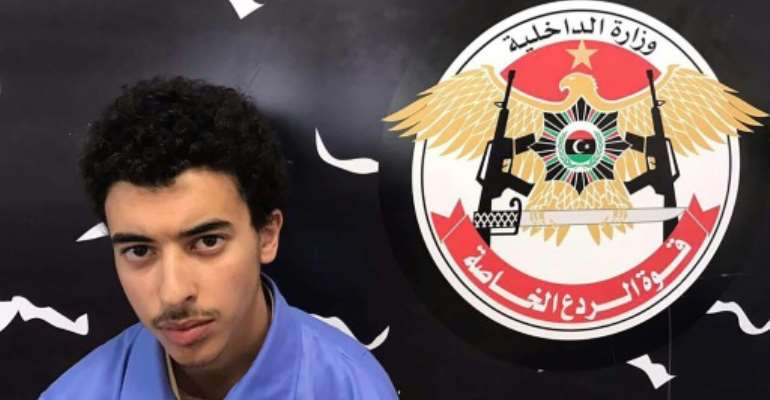 Britain is seeking the extradition from Libya of Hashem Abedi, the brother of the Manchester bomber.  By HO (LIBYA'S SPECIAL DETERRENCE FORCE/AFP/File)