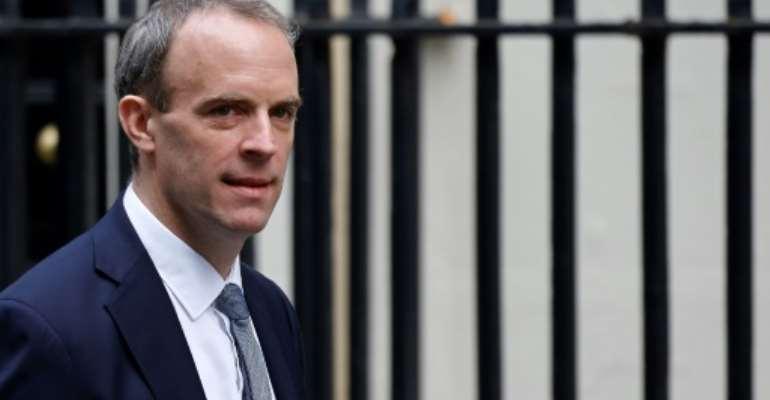 UK pledges $55 million in aid during Raab visit to Sudan