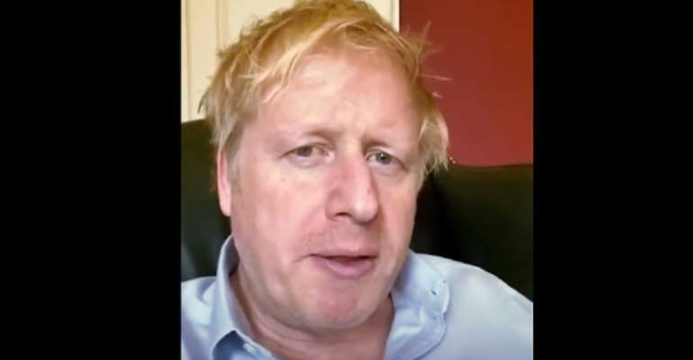 British Prime Minister Boris Johnson is the most prominent figure to have been hospitalized with the coronavirus.  By - (10 Downing Street/AFP/File)