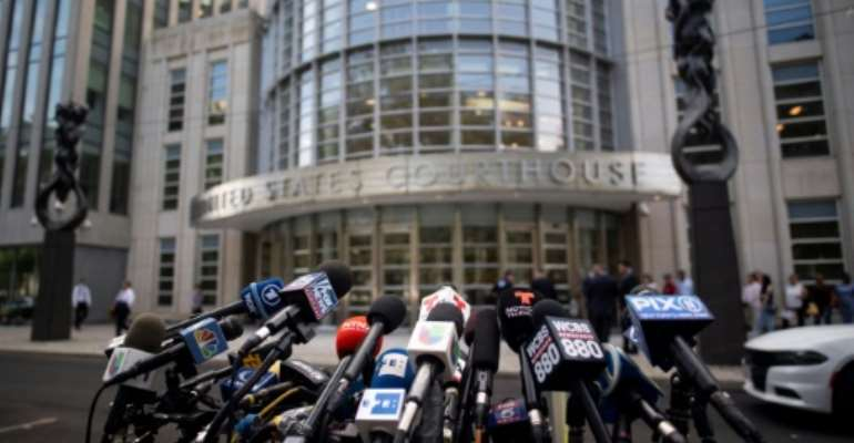 Brooklyn federal court in New York where Jean Boustani was acquitted of masterminding a debt scandal in Mozambique Monday.  By Johannes EISELE (AFP)