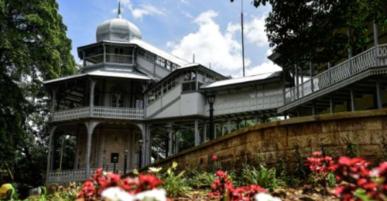 Built in the late 1800s by Emperor Menelik II, who founded Addis Ababa, the palace was the residence of Ethiopia's rulers for more than a century.  By Michael TEWELDE (AFP)
