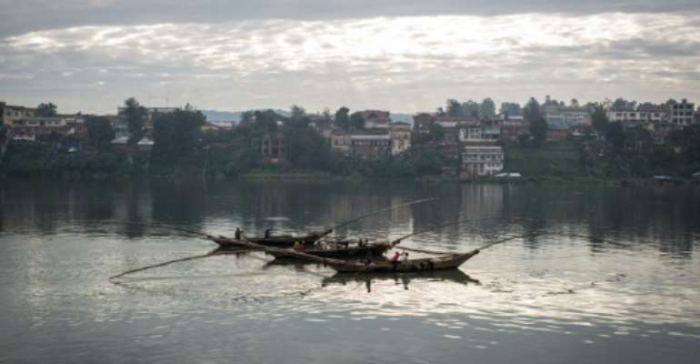 Bukavu is the main town in the Democratic Republic of Congo's South Kivu province.  By Federico Scoppa (AFP/File)