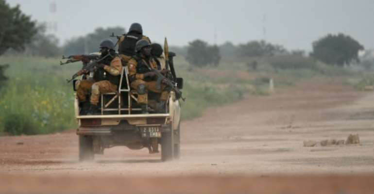 Burkina Faso has been in the grip of an intensifying jihadist insurgency since 2015.  By Sia KAMBOU (AFP/File)