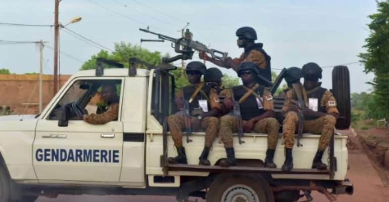 Burkina Faso, in the heart of Africa's vast Sahel region, is struggling with a bloody Islamist insurgency as well as bouts of social unrest.  By ISSOUF SANOGO (AFP/File)