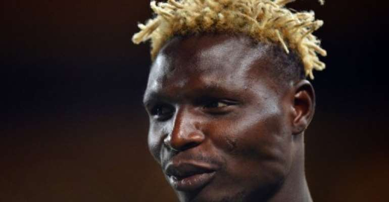 Burkina Faso's national football team forward Aristide Bance at Soccer City in Soweto, South Africa on February 9, 2013.  By Ben Stansall (AFP/File)