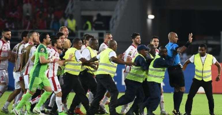 CAF ban ref, fine Tunisia after penalty drama