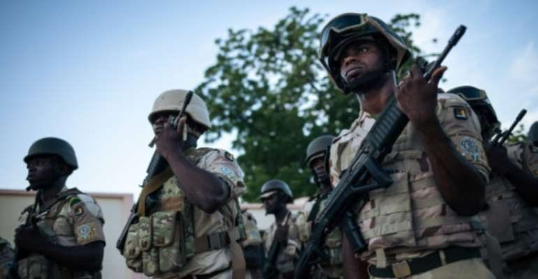 Cameroon forces have been fighting Boko Haram militants in the north.  By ALEXIS HUGUET (AFP)
