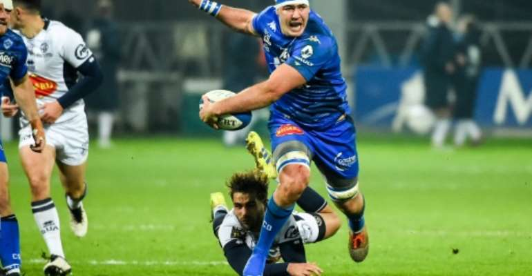 Castres' Ryno Pieterse played three games for the Bulls in last season's Super Rugby.  By Fred SCHEIBER (AFP/File)