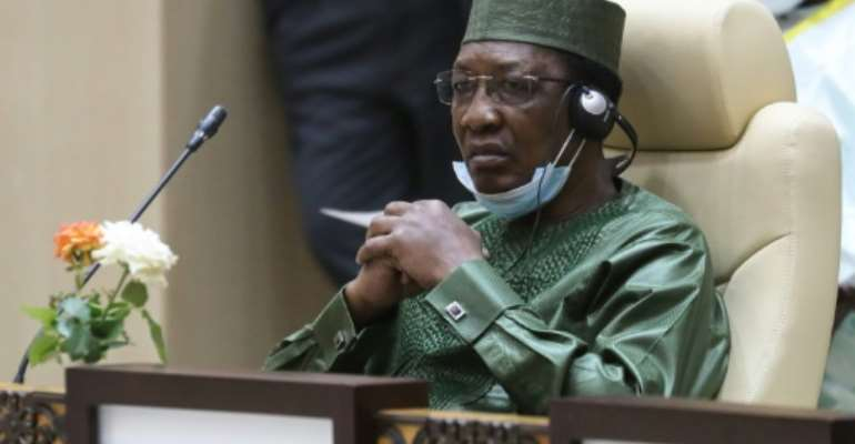 Chad President Idriss Deby (pictured June 2020) said his country will