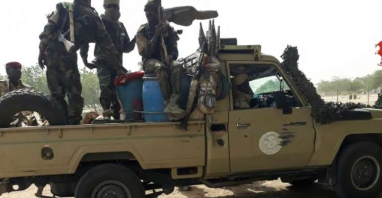 Chad says five of its soldiers were abducted then executed on Sunday, branding the killings a war crime.  By - (AFP/File)