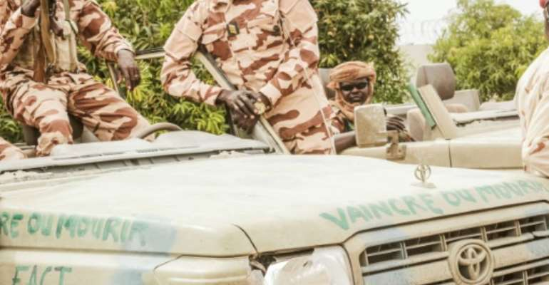 Chad's military have been running the strategic Sahel country since the shock death of veteran leader Idriss Deby Itno.  By Djimet WICHE (AFP/File)