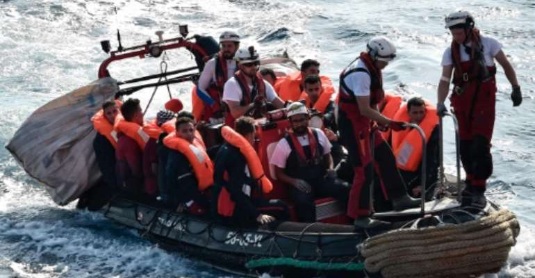 Charities have been chartering boats to rescue migrants who face very difficult conditions in Libya as they attempt to reach Europe.  By LOUISA GOULIAMAKI (AFP)