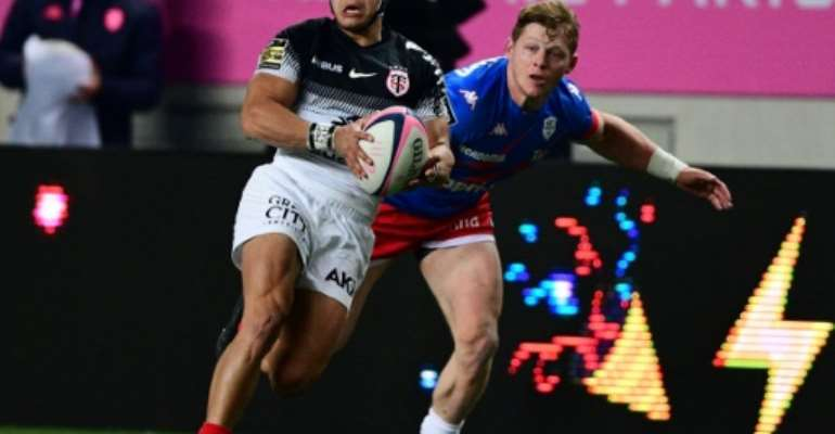 Cheslin Kolbe has scored 20 tries for Toulouse since joining in 2017.  By MARTIN BUREAU (AFP/File)