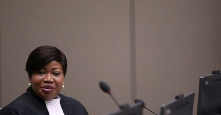Chief ICC prosecutor Fatou Bensouda formally appealed the trial judges' decision in October.  By EVA PLEVIER (ANP/AFP/File)