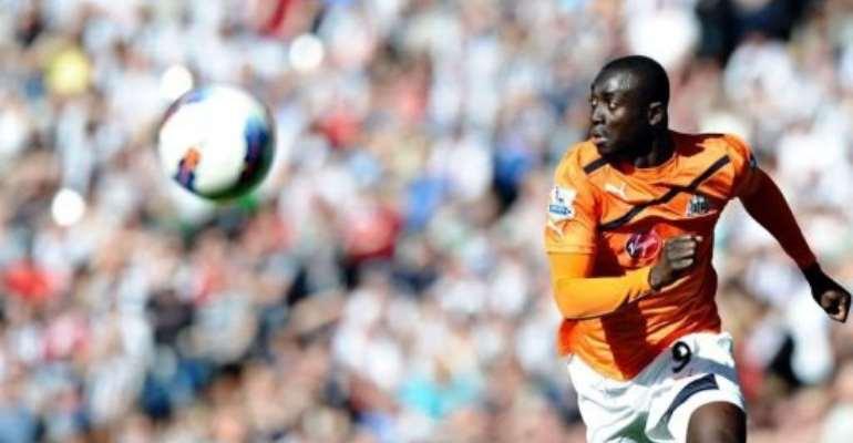 Newcastle United's Senegalese Papiss Cisse.  By Paul Ellis (AFP/File)