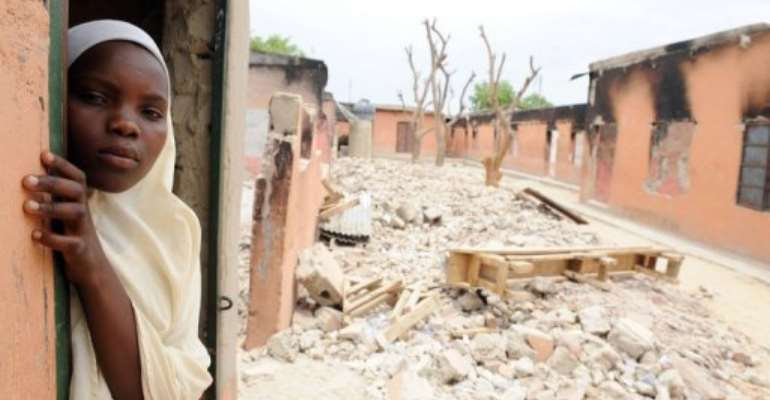 Boko Haram has attacked schools in Maiduguri to keep children away.  By Pius Utomi Ekpei (AFP/File)