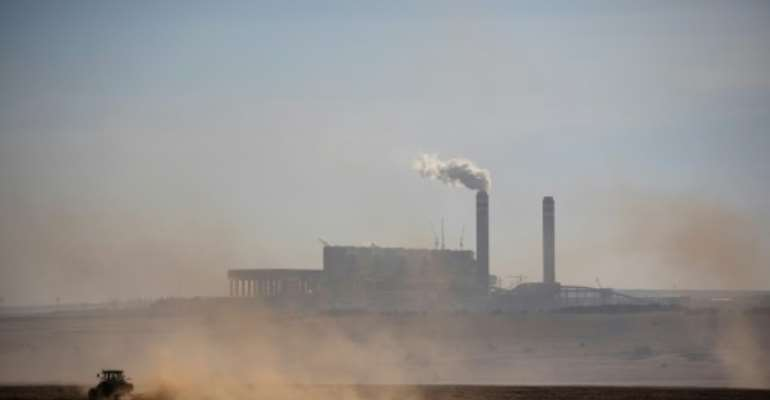 Coal is cheap and plentiful in South Africa, and an environmental nightmare according to climate groups.  By Wikus DE WET (AFP)