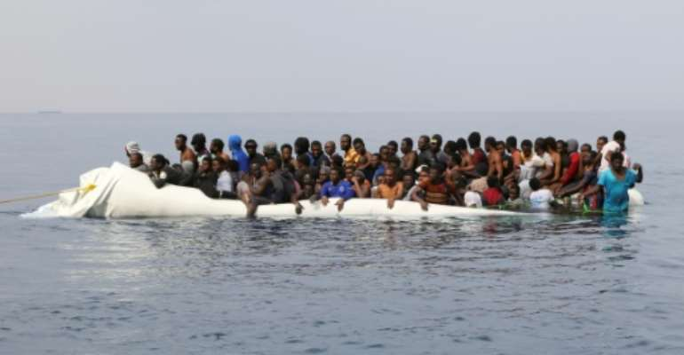 Conflict-ravaged Libya has long been a stepping stone for migrants seeking a better life in Europe.  By Abdullah ELGAMOUDI (AFP/File)