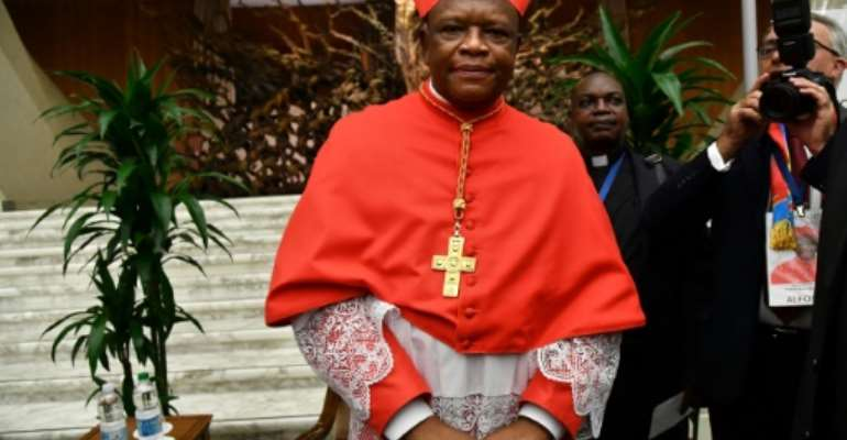 Congolese Cardinal Fridolin Ambongo Besungu has called for the government to stop the influx of people from neighbouring countries into a lawless border region.  By Tiziana FABI (AFP)