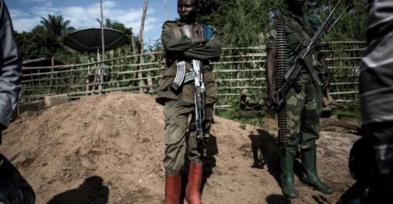 Congolese soldiers launched a massive offensive against the ADF, a ruthless militia of Ugandan origin.  By John WESSELS (AFP)