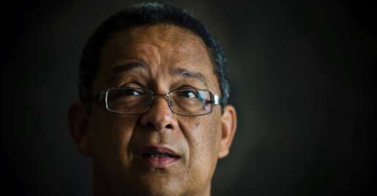 This picture taken on April 2, 2013, shows Robert McBride,  nominated to head the South Africa's police watchdog.  By  (AFP/File)