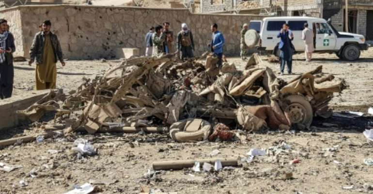 Countries already in conflict, like Afghanistan, saw the highest death tolls from terrorism in 2019.  By - (AFP/File)