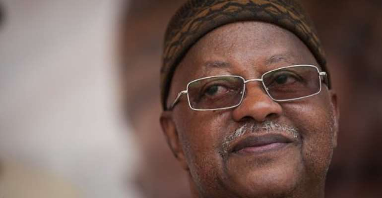 Carlos Gomes Junior, Guinea Bissau's Prime Minister.  By Phil Moore (AFP/File)