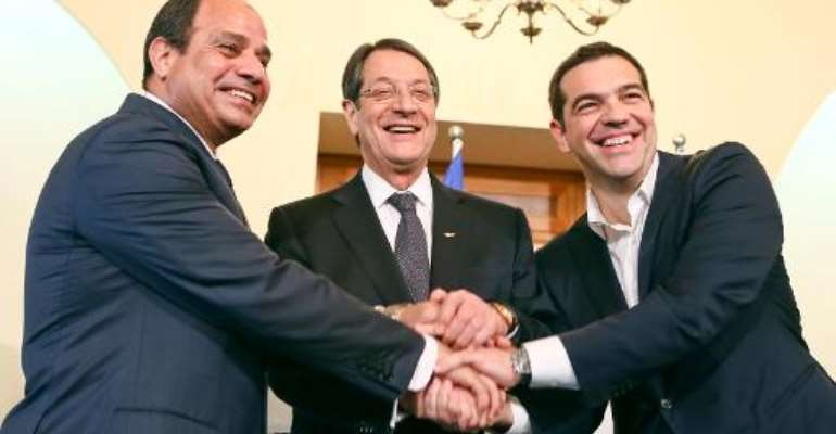 Cyprus, Greece and Egypt agree to step up 'terror' fight