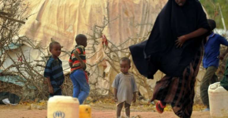 Dadaab hosts nearly a quarter of a million mainly Somalis who fled across the border following the outbreak of civil war in 1991.  By TONY KARUMBA (AFP)