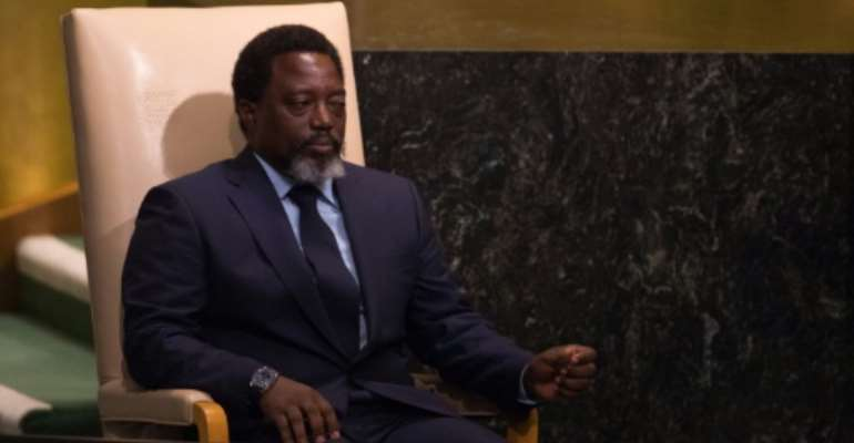 Democratic Republic of Congo President Joseph Kabila spends most of his time in the capital, Kinshasa, but is believed to have several homes across the country, including a farm.  By Bryan R. Smith (AFP/File)