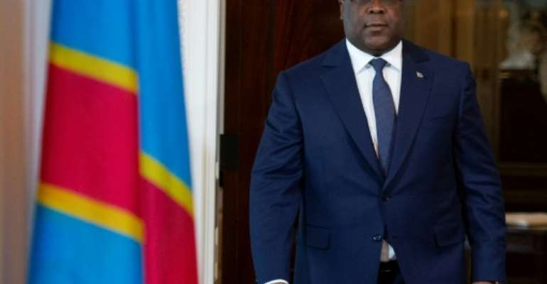 Democratic Republic of the Congo President Felix Tshisekedi has vowed to fight corruption and nepotism.  By ANDREW CABALLERO-REYNOLDS (AFP)