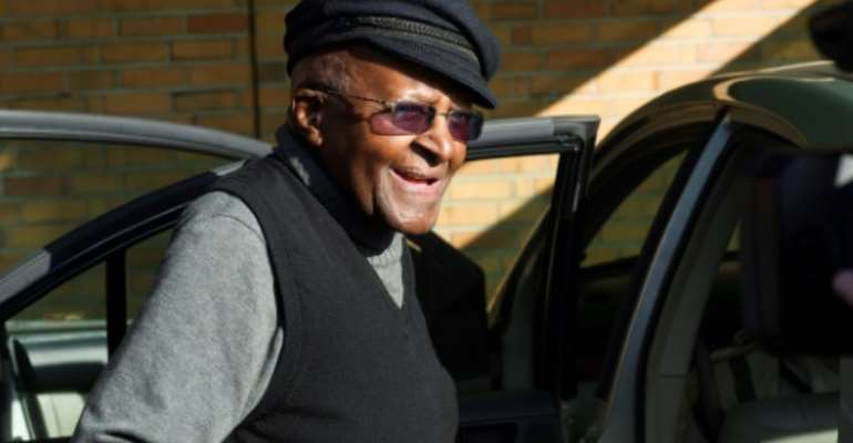 Desmond Tutu was admitted to a Cape Town hospital and last week underwent a