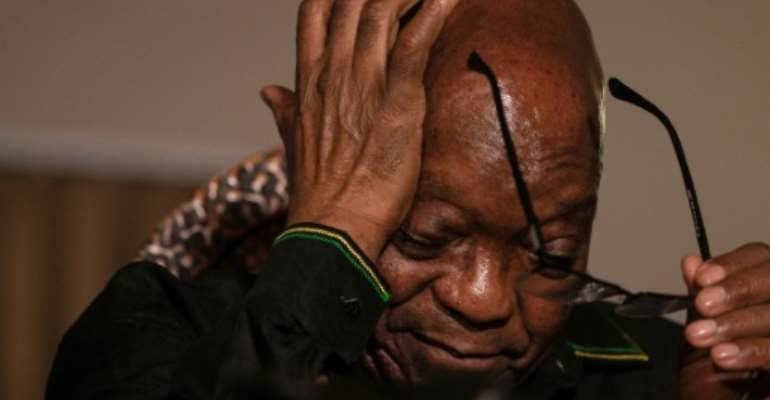 Details of Zuma's medical condition have been kept confidential.  By Emmanuel Croset (AFP/File)
