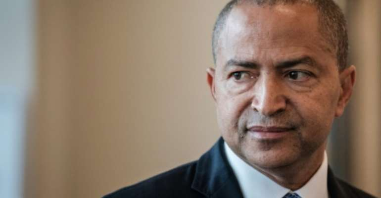 DRC opposition leader  Moise Katumbi who has been blocked from returning home to submit his candidacy for December presidential elections.  By Yasuyoshi CHIBA (AFP/File)