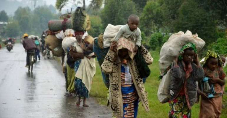 Mutineers in DR Congo have told AFP they belong to a new military group, the March 23 Movement.  By Junior D.Kannah (AFP)