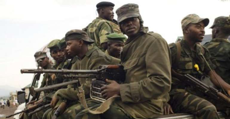 DR Congo says Rwanda is arming the M-23 mutiny which has battled regular forces since May.  By Michele Sibiloni (AFP/File)