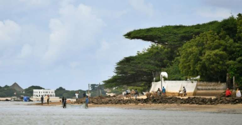 East Africa's first-ever coal-fired power plant had been planned near the Lamu archipelago.  By TONY KARUMBA (AFP/File)
