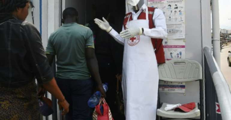 Ebola has claimed two lives in western Uganda so far.  By ISAAC KASAMANI (AFP)