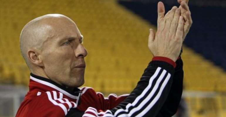Egypt's coach Bob Bradley.  By Karim Jaafar (AFP/File)