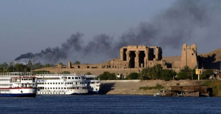 Egypt has detected 12 new cases of coronavirus among workers aboard a Nile cruise boat.  By MIKE NELSON (AFP/File)