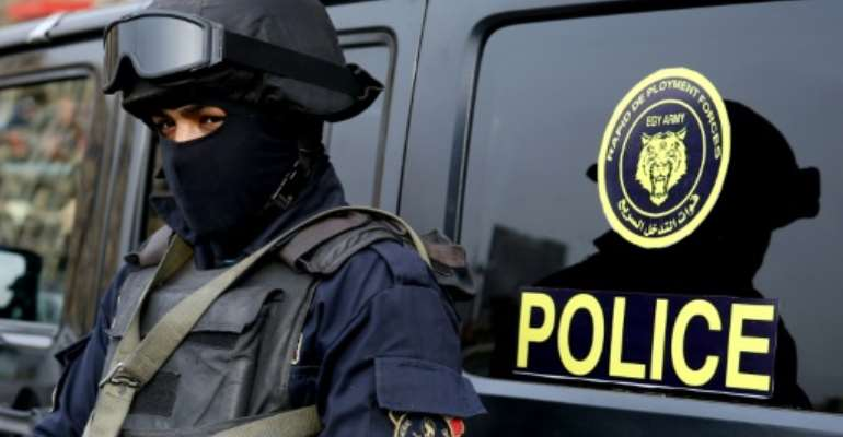 Egyptian security forces have been the target of frequent attacks since the army ousted Islamist president Mohamed Morsi in 2013.  By STRINGER (AFP/File)