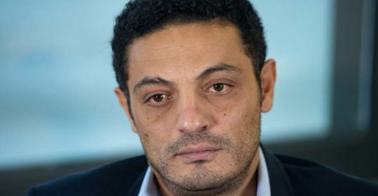 Egyptian self-exiled businessman Mohamed Ali sparked protests on Egyptian streets with his viral videos accusing President Abdel Fattah al-Sisi and the military of corruption.  By Josep LAGO (AFP)