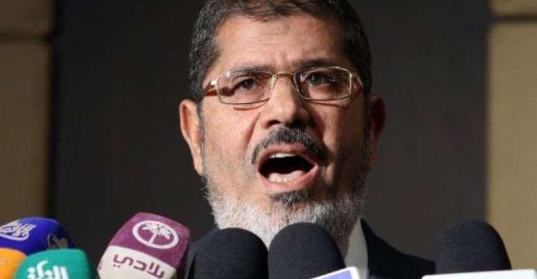 Muslim Brotherhood presidential candidate Mohamed Morsi said the Brotherhood wants neither