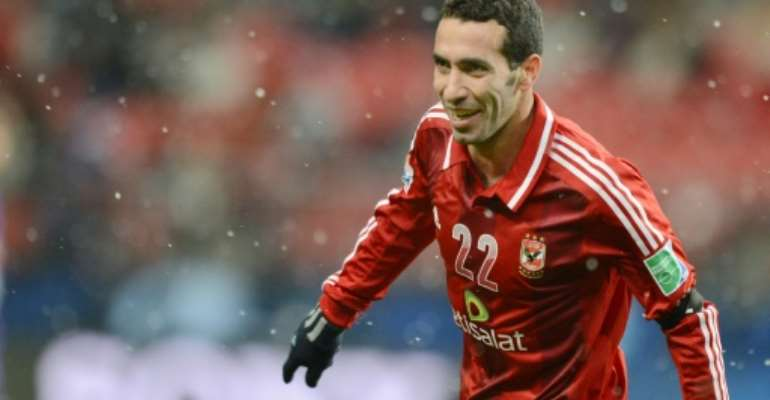 Egypt's Mohamed Aboutrika, one of the most successful African footballers of his generation, had publicly endorsed the presidential bid of the Muslim Brotherhood's Mohamed Morsi in 2012.  By TORU YAMANAKA (AFP/File)