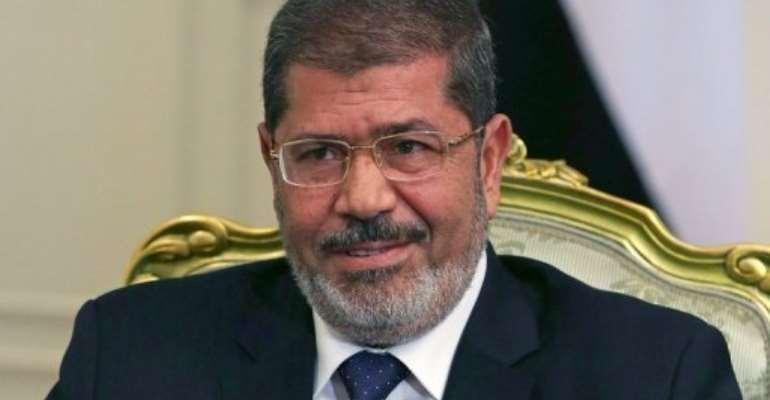 Mohamed Morsi is Egypt's first Islamist president.  By Mark Wilson (AFP)