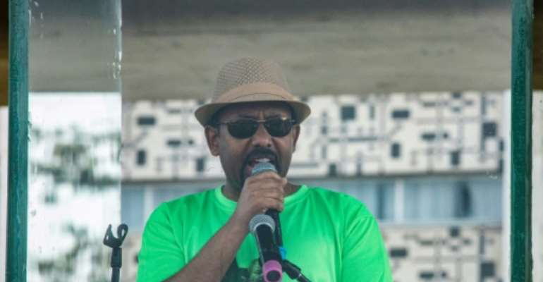 Ethiopia Prime Minister Abiy Ahmed, seen in June 2018, has been in office since April 2018.  By Yonas TADESSE (AFP/File)