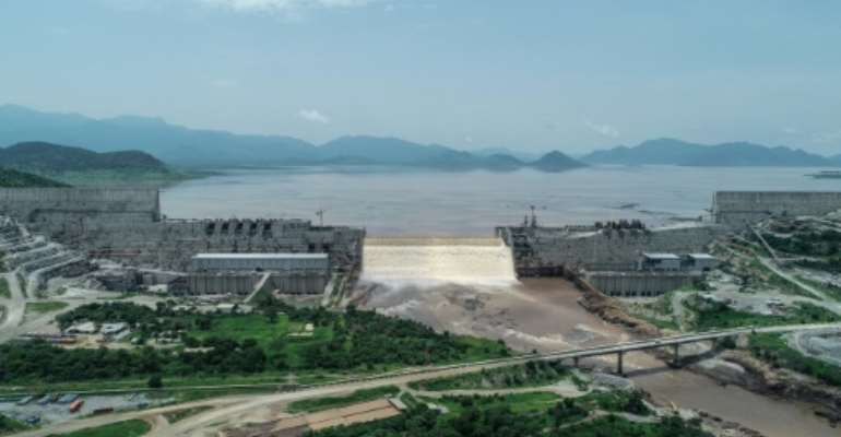 Ethiopia sees the massive dam on the Nile as essential for its electrification and development, but Egypt sees it as an existential threat.  By - (Adwa Pictures/AFP/File)