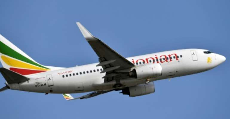 Ethiopian Airlines is fighting to stay in the skies, its CEO tells AFP.  By ISSOUF SANOGO (AFP/File)